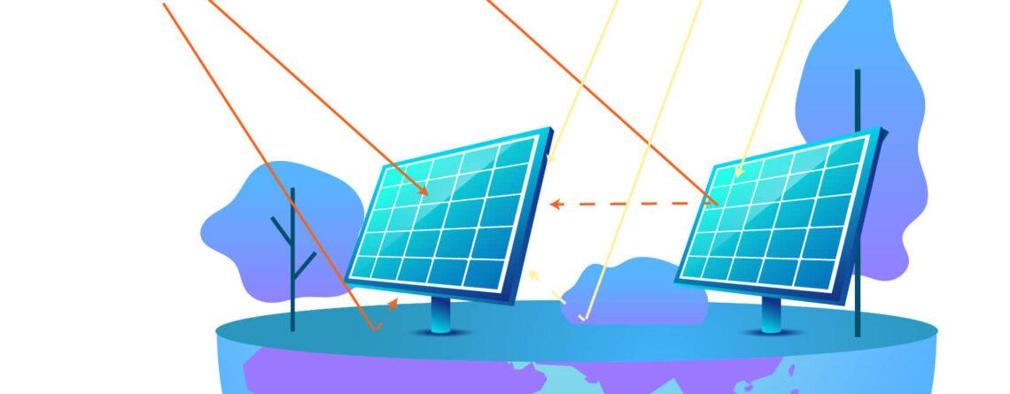 Distancia-paneles-solares